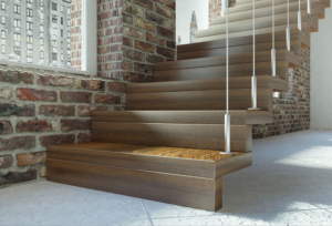 Staircase design guides - how to add details to floating staircases