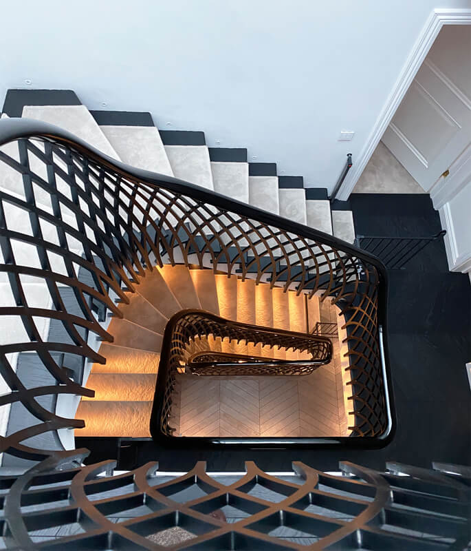 Bespoke staircase designs - creating the right design for your home